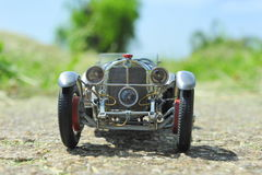 Mercedes-Benz SSKL 1931 racing car Royalty Free Stock Photo