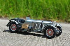 Mercedes-Benz SSKL retro racing car Royalty Free Stock Photos