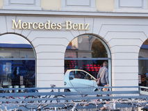 Mercedes-Benz store Stock Image