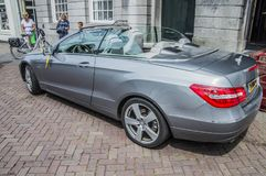 Mercedes-Benz On The Street At Weesp The Netherlands 2018 royalty free stock photos