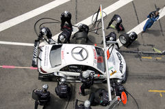 Mercedes Benz Team royalty free stock photography