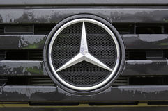 Mercedes benz truck Stock Photography