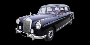 Mercedes Benz, Type 220 A Royalty Free Stock Photo