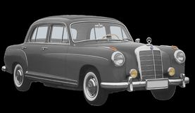 Mercedes Benz, Type 220S, Limousine Stock Photo