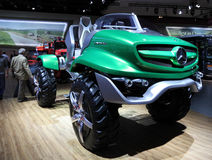Mercedes Benz Unimog Concept Stock Photos