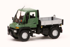 Mercedes-Benz Unimog U400. Unimog U400, Welly 1:24 scale diecast, left front view Royalty Free Stock Photography