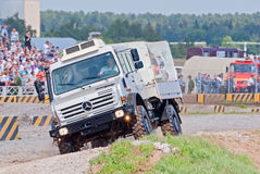 Mercedes Benz Unimog U4000 truck Stock Photos
