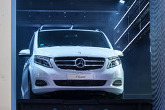 Mercedes Benz V-Class at the IAA 2015 Royalty Free Stock Photography