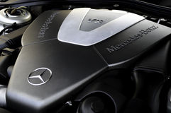 Mercedes-Benz V8 Engine Royalty Free Stock Image