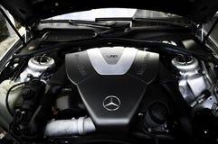 Mercedes-Benz V8 motor Royaltyfria Bilder