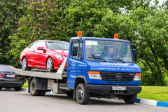 Mercedes-Benz Vario 614D Royalty Free Stock Photo