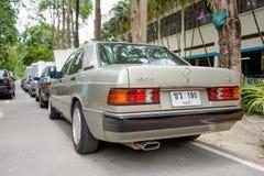 Mercedes Benz-verzameling aan Nakhon Ratchasima, Thailand 6 20 Februari Royalty-vrije Stock Fotografie