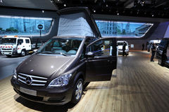 Mercedes Benz Viano Camper Royalty Free Stock Images