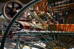 Mercedes benz vintage car wheel detail Stock Photos