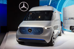 Mercedes-Benz Vision Van Stock Photo