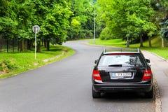 Mercedes-Benz W204 C180 Fotos de Stock