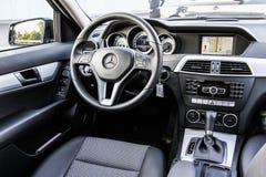 Mercedes-Benz W204 C180 Arkivbild