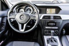 Mercedes-Benz W204 C180 Royaltyfri Foto