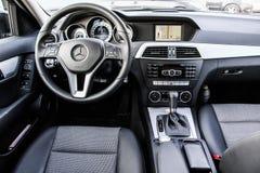Mercedes-Benz W204 C180 stock foto's
