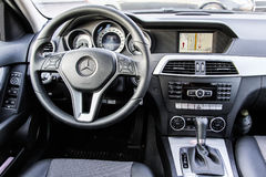 Mercedes-Benz W204 C180 Royalty Free Stock Photo