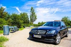 Mercedes-Benz W204 C180 Royalty Free Stock Photography