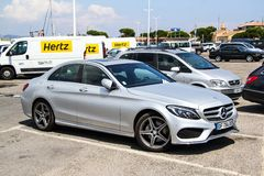Mercedes-Benz W205 C-class Royalty Free Stock Image
