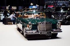 Mercedes-Benz W111 Cabriolet at Geneva 2016 Royalty Free Stock Photos