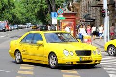 Mercedes-Benz W210 classe e Fotografia Stock Libera da Diritti