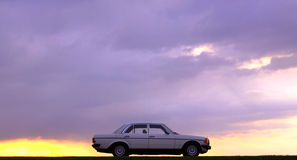 Mercedes-Benz W123 - 240D Cobra Royalty Free Stock Photo