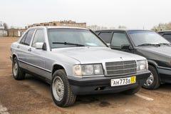 Mercedes-Benz W201 190E immagine stock libera da diritti