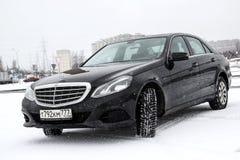 Mercedes-Benz W212 E200 stock foto's