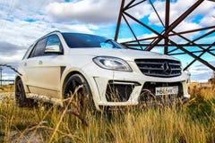 Mercedes-Benz W166 ML63 AMG Stock Photo