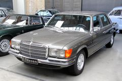 Mercedes-Benz W116 S-class Stock Images