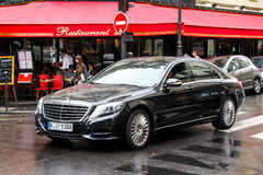 Mercedes-Benz W222 S-class Royalty Free Stock Photography
