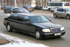 Mercedes-Benz W140 S600 Pullman Royalty Free Stock Images