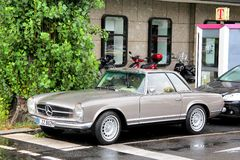 Mercedes-Benz W113 280SL Stock Image