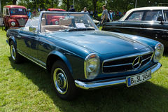 The Mercedes-Benz W113 is a two-seat roadster Stock Images