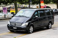 Mercedes-Benz W639 Vito immagine stock