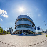 Mercedes-Benz Welt Museum Royalty Free Stock Photo
