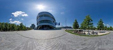 Mercedes-Benz Welt, Stuttgart Image stock