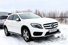 Mercedes-Benz X156 GLA-class Royalty Free Stock Photography