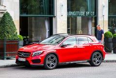 Mercedes-Benz X156 GLA-grupp Fotografering för Bildbyråer