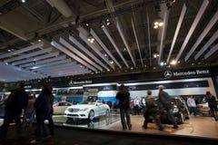 MERCEDES-BENZausstellung bei Autoshow 2010 Stockfotografie