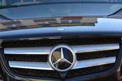 Mercedes bil royaltyfri bild