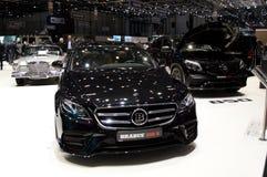 Mercedes-Brabus D65 på Genève 2017 Arkivfoto