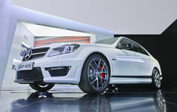 Mercedes C63 AMG displyed in a AMG outlet, Beijing, China Stock Image