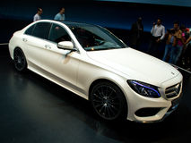 Mercedes C class Geneva 2014 Stock Photos