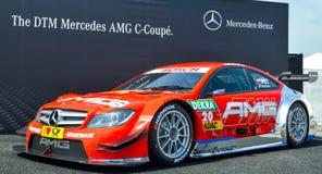 Mercedes-c-Coupé royalty-vrije stock foto