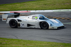 1990 Mercedes C11 Group C Prototype at Monza Stock Photography