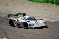 1990 Mercedes C11 Group C Prototype at Monza Stock Images